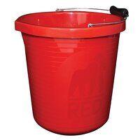 Premium Bucket 14 litre (3 gallon) - Red