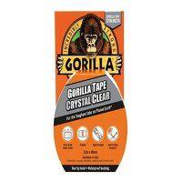 Gorilla Tape® 48mm x 8.2m Crystal Clear