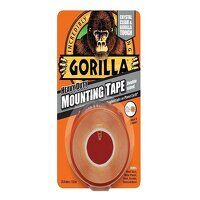 Gorilla Heavy-Duty Mounting Tape 25.4mm x 1.52m Cr...