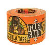 Gorilla Tape® Tough & Wide 73mm x 27m Black