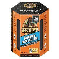 Gorilla Waterproof Patch & Seal Tape 101.6mm x 3.04m Black