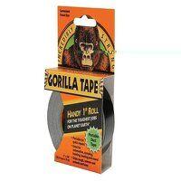 Gorilla Tape® Handy Roll 25mm x 9m Black
