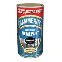 Direct to Rust Hammered Finish Metal Paint Silver ...