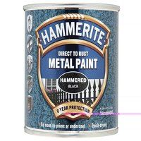 Direct to Rust Hammered Finish Metal Paint Black 2...