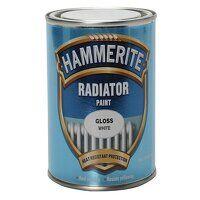 Radiator Paint Gloss White 500ml
