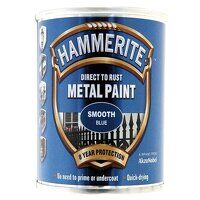 Direct to Rust Smooth Finish Metal Paint Blue 250m...