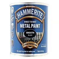 Direct to Rust Smooth Finish Metal Paint Black 250...