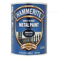 Direct to Rust Smooth Finish Metal Paint Dark Blue...