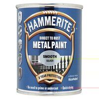 Direct to Rust Smooth Finish Metal Paint Silver 75...