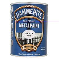 Direct to Rust Smooth Finish Metal Paint White 2.5...