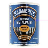 Direct to Rust Smooth Finish Metal Paint Yellow 25...