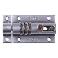 CombiBolt 3 Re-Codable Locking Bolt Chrome 92mm