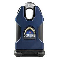 SS65CS Stronghold Solid Steel Padlock 65mm Closed Shackle CEN6