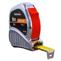 TM8ME Chrome Tri-Matic Pocket Tape 8m/26...