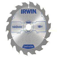 Construction Circular Saw Blade 160 x 20mm x 18T A...