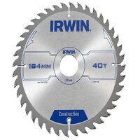 Construction Circular Saw Blade 184 x 30mm x 40T A...
