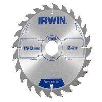 Construction Circular Saw Blade 190 x 30mm x 24T A...