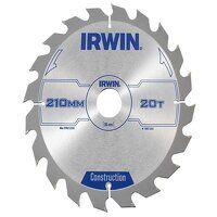 Construction Circular Saw Blade 210 x 30mm x 20T A...