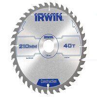 Construction Circular Saw Blade 210 x 30mm x 40T A...