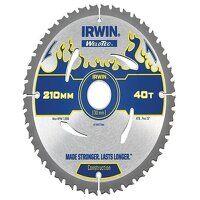 Weldtec Circular Saw Blade 210 x 30mm x 40T ATB