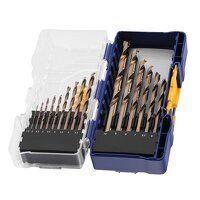 HSS Cobalt Drill Bit Set, 15 Piece