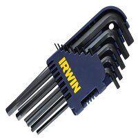 T10755 Short Arm Hex Key Set, 10 Piece (1.5-10mm)