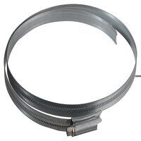 9.1/2in Zinc Protected Hose Clip 210 - 242mm (8.1/4 - 9.1/2in)
