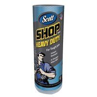 SCOTT® Blue Heavy-Duty Shop Cloth Roll