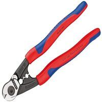 Wire Rope/Bowden Cable Cutters Multi-Component Grip 190mm (7.1/2in)