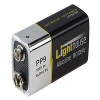 9V LR61 Alkaline Battery 1100 mAh (Singl...
