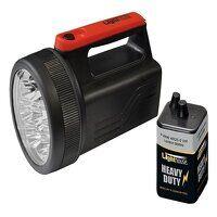 High-Performance 8 LED Spotlight with 6V...