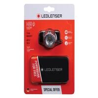 H8R Rechargeable LED Headlamp + Free Powerbank