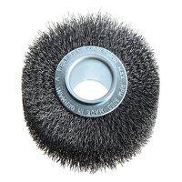 Wheel Brush D100mm x W20-22 x 30 Bore Set 1 Steel ...