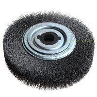 Wheel Brush D250mm x W30-35 x 100 Bore Set 4 +1 St...