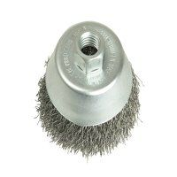 Cup Brush 60mm M10, 0.35 Steel Wire