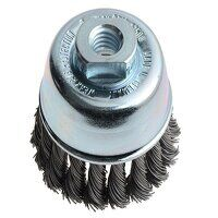 Knot Cup Brush 65mm M14x2.0, 0.50 Steel Wire