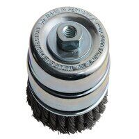 Knot Cup Brush 100mm M14x2.0, 0.50 Steel Wire*