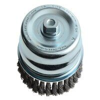 Knot Cup Brush 125mm M14x2.0, 0.50 Steel Wire*