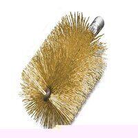 Threaded Tube Brush 30mm Brass Wire