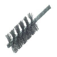 Threaded Tube Brush 30mm Stainless Steel Wire