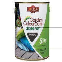 Garden Colour Care Decking Paint Gun Metal 2.5 lit...