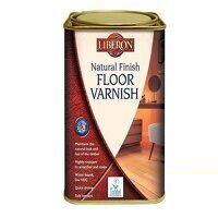 Natural Finish Floor Varnish Clear Matt 1 litre