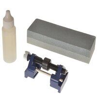 Honing Guide  Stone & Oil Set of 3