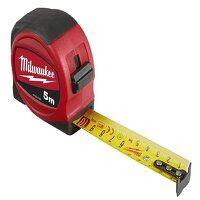 Slimline Tape Measure 5m (Width 25mm) (Metric Only)