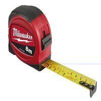 Slimline Tape Measure 8m (Width 25mm) (Metric Only)