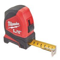 Pro Compact Tape Measure 5m/16ft (Width 25mm)