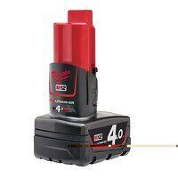 """M12 B4 REDLITHIUM-IONâ""""¢ Battery 12V 4.0Ah Li-ion"""