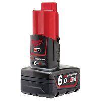 """M12 B6 REDLITHIUM-IONâ""""¢ Battery Pack 12V 6.0Ah Li..."""