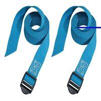 Lashing Straps with Plastic Buckle 1.2m 2 Piece
