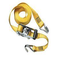 Ratchet Tie-Down J-Hooks 4.50m